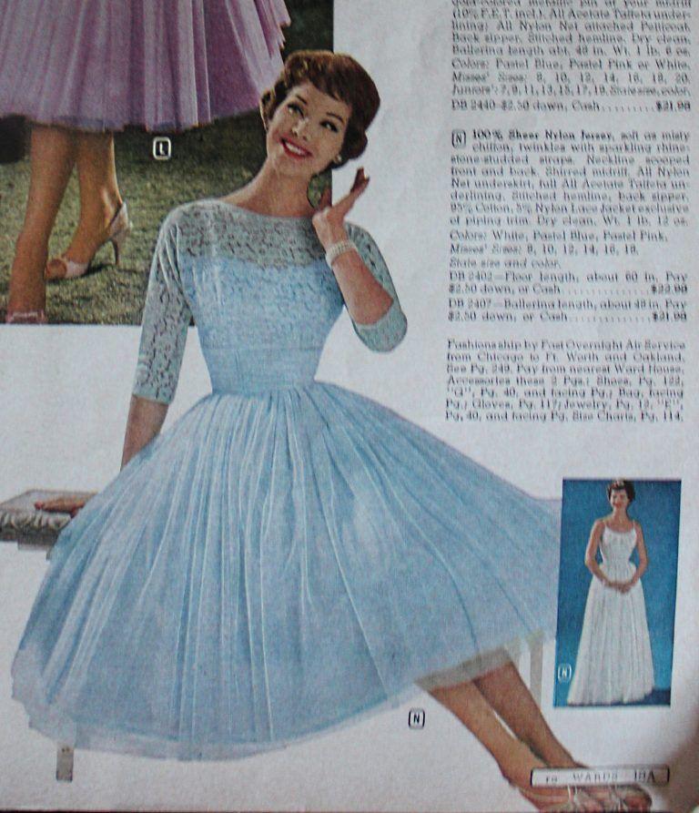 fb9e5ba217bc 1960s Evening Dresses
