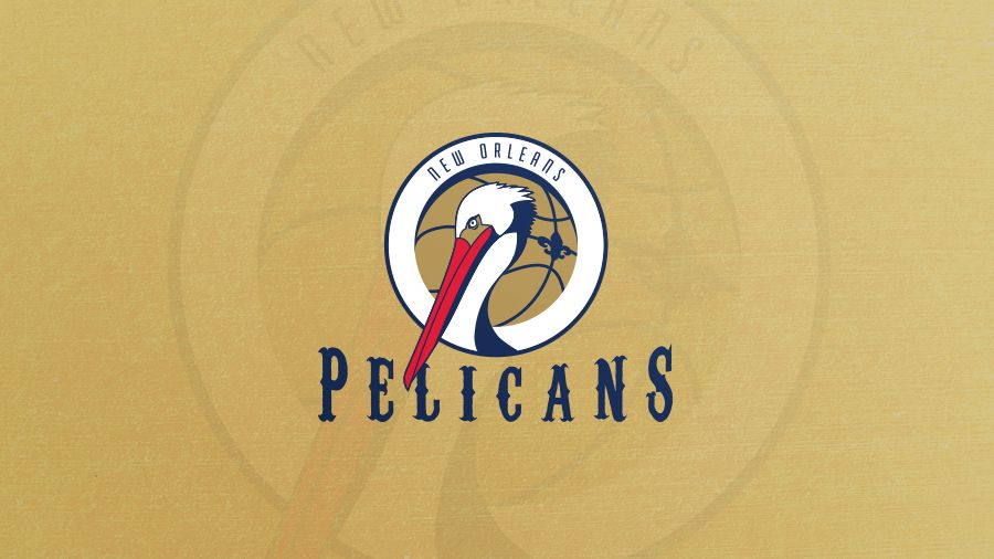 Nba Logo Redesign New Orleans Pelicans On Behance