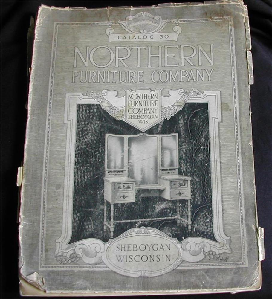 Charmant 1917 Northern Furniture Company Sheboygan Wisconsin Catalog No.