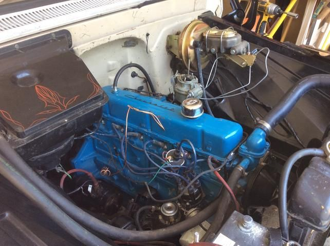 Heater Unit Pinstripe 1960 1966 Chevy C10 Truck Project