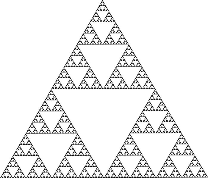 Sierpinskiu0027s triangle truth Sleuths Pinterest Triangles - triangular graph paper