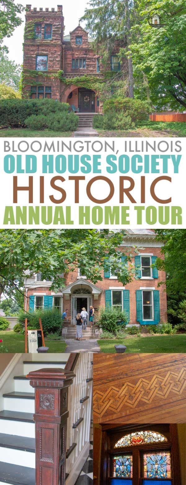 Old House Society Bloomington Illinois Annual Home Tour 2018 Franklin Park Bloomington Illinois House Tours Old House