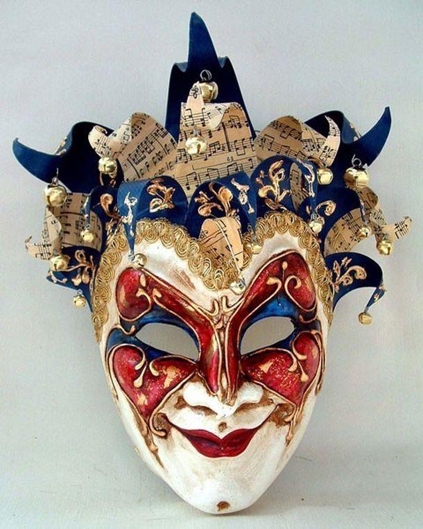 Maschera di Franco Cecamore