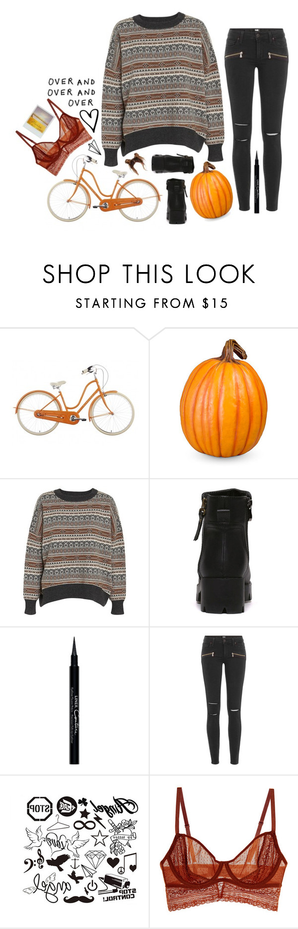 """Ride / TØP"" by weirdestgirlever ❤ liked on Polyvore featuring Improvements, Wood Wood, Givenchy, Paige Denim, Intimately Free People, country and samarinaras2Kfallcontest"