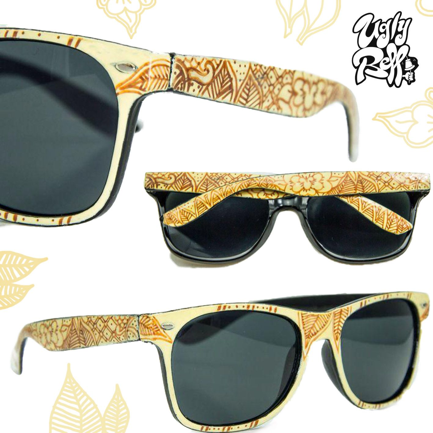 palm tree pattern sunglasses all sides painted custom painted by custom painted by hand great attention to detail using high quality paints you dont have t pinteres