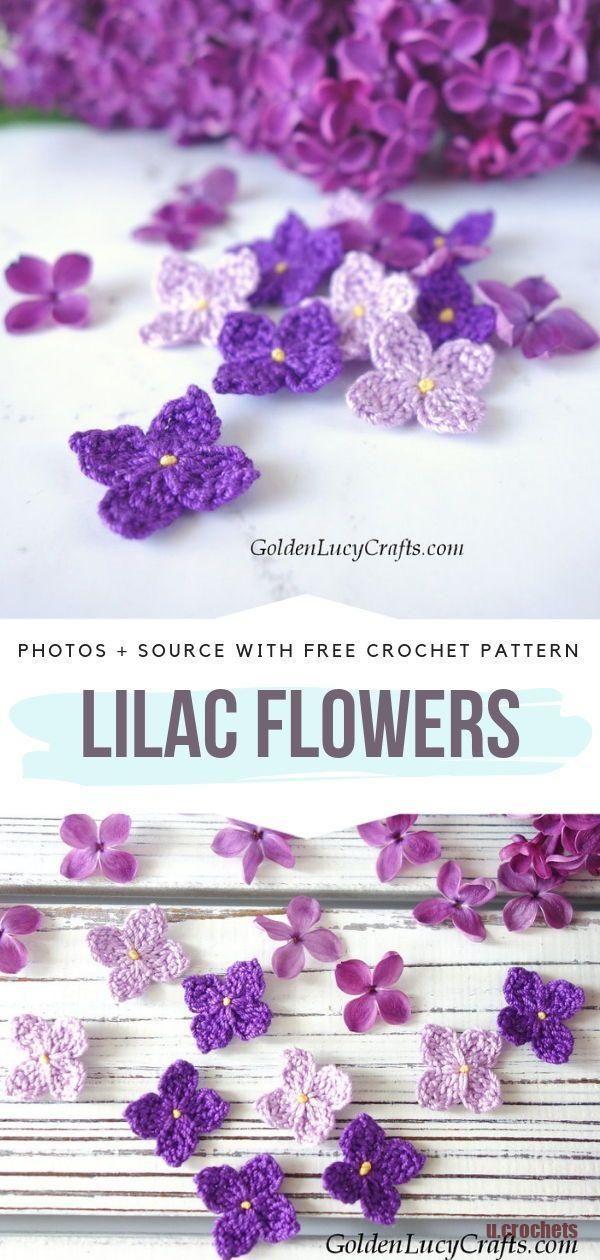 Photo of Einfach schöne Häkelblumen kostenlose Muster