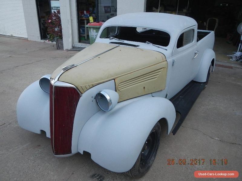 Car for Sale: 1937 chevrolet hotrod ratrod ute unfinished project ...