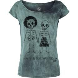 Photo of Outer Vision Skeleton Lovers T-Shirt