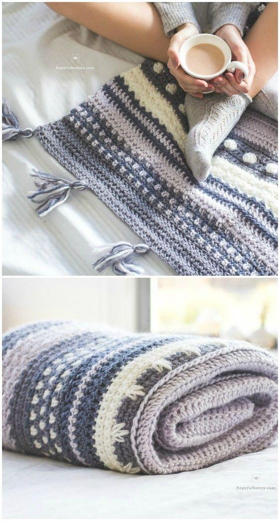 Free Crochet Blanket Patterns – Free Patterns | Blanket crochet ...
