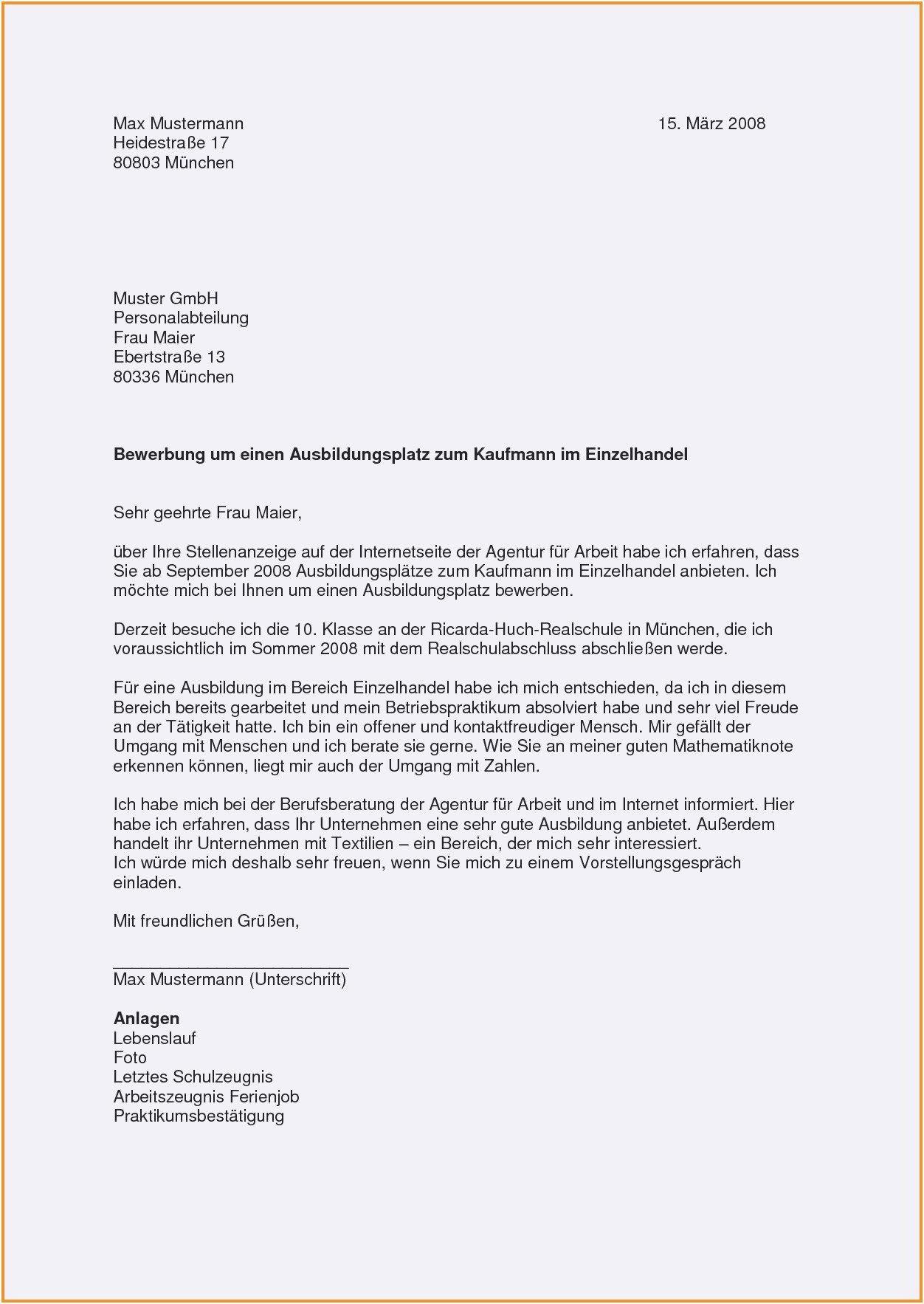 Frisch Bewerbungsschreiben Produktionshelfer Ohne Erfahrung Briefprobe Briefformat Briefvorlage Vorlagen Lebenslauf Lebenslauf Bewerbung Ausbildungsplatz