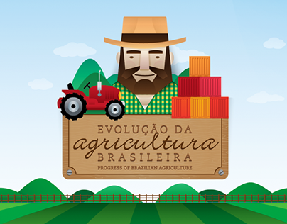 """Check out new work on my @Behance portfolio: """"Progress of Brazilian Agriculture"""" http://on.be.net/1RJgE0P"""