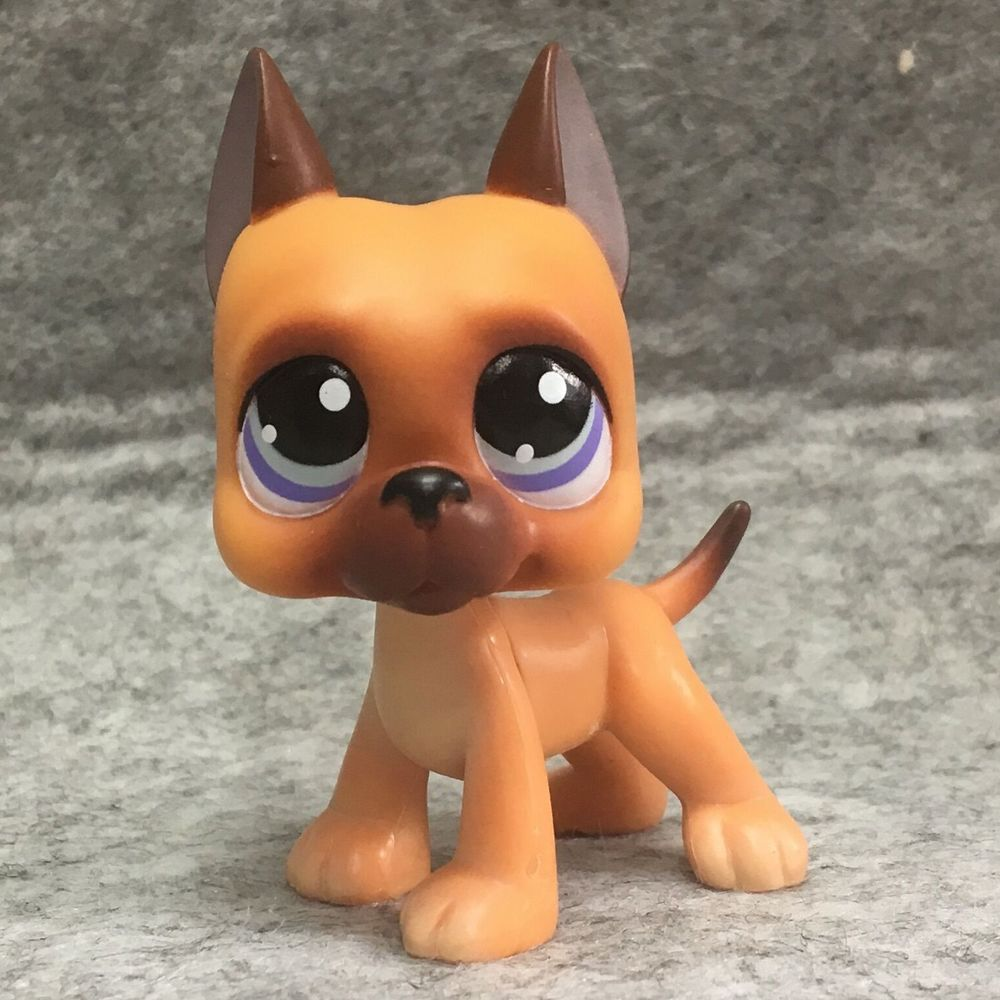 Littlest Pet Shop Lps Figure Toys 244 Great Dane Dog Toys