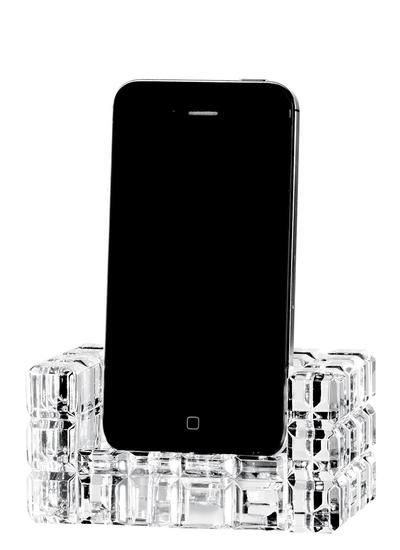 Speakal iCrystal Stereo Docking Station with Two Speakers for iPod ...