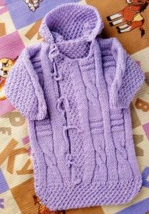 Конверт для новорождённого спицами: 16 моделей со. - Вязание 18