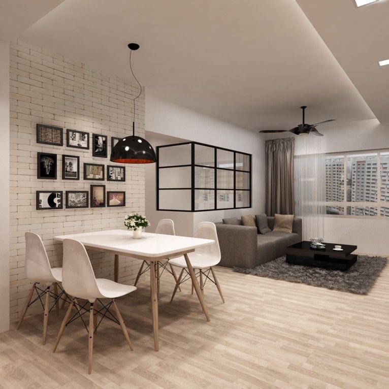 Hdb Bto 4 Room At Hougang Apartment Dining Room Small Apartment Dining Room Dining Room Small