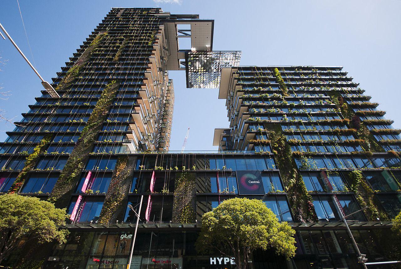 one central park sydney jean nouvel architectural pinterest
