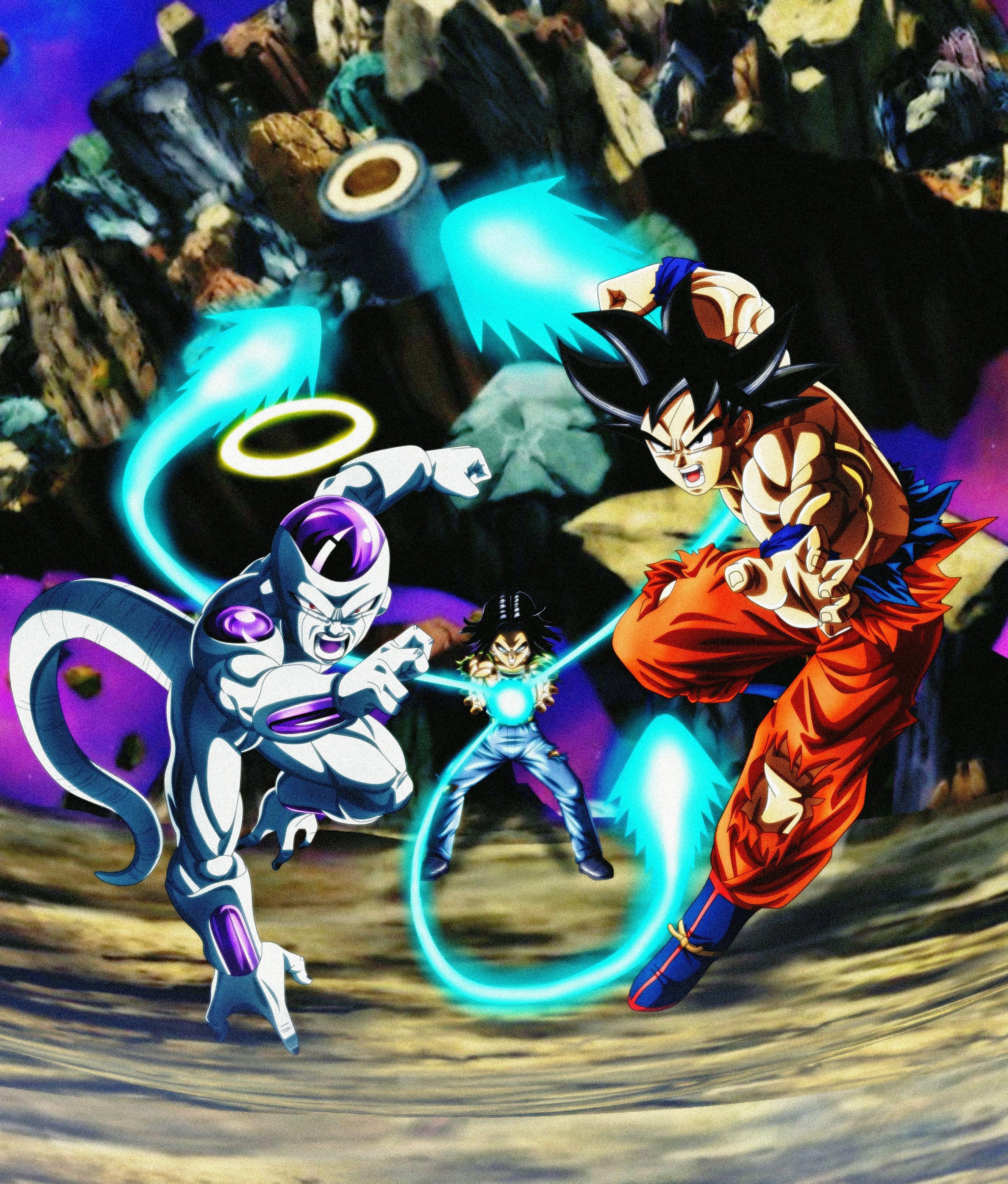 Goku, Frieza & Android 17, Dragon Ball Super Dragon ball