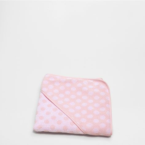 POLKA DOT JACQUARD COTTON TOWEL - Towels - Bathroom | Zara Home Netherlands