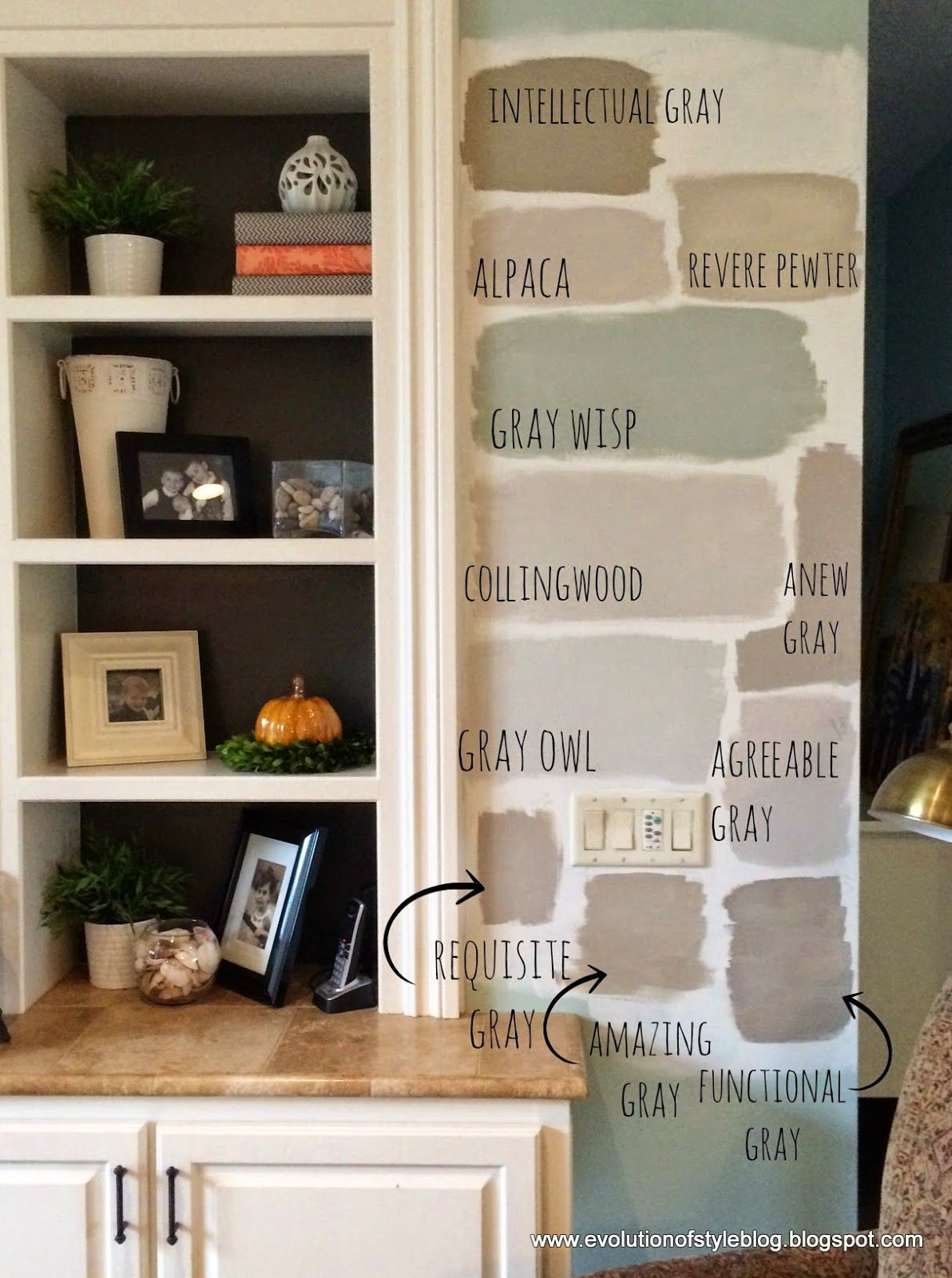 Best Color Spotlight Sherwin Williams Comfort Gray Paint 400 x 300