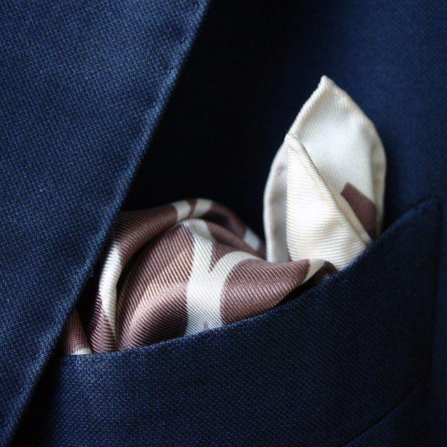 Fancy - Silk Pocket Square by Tom Ford