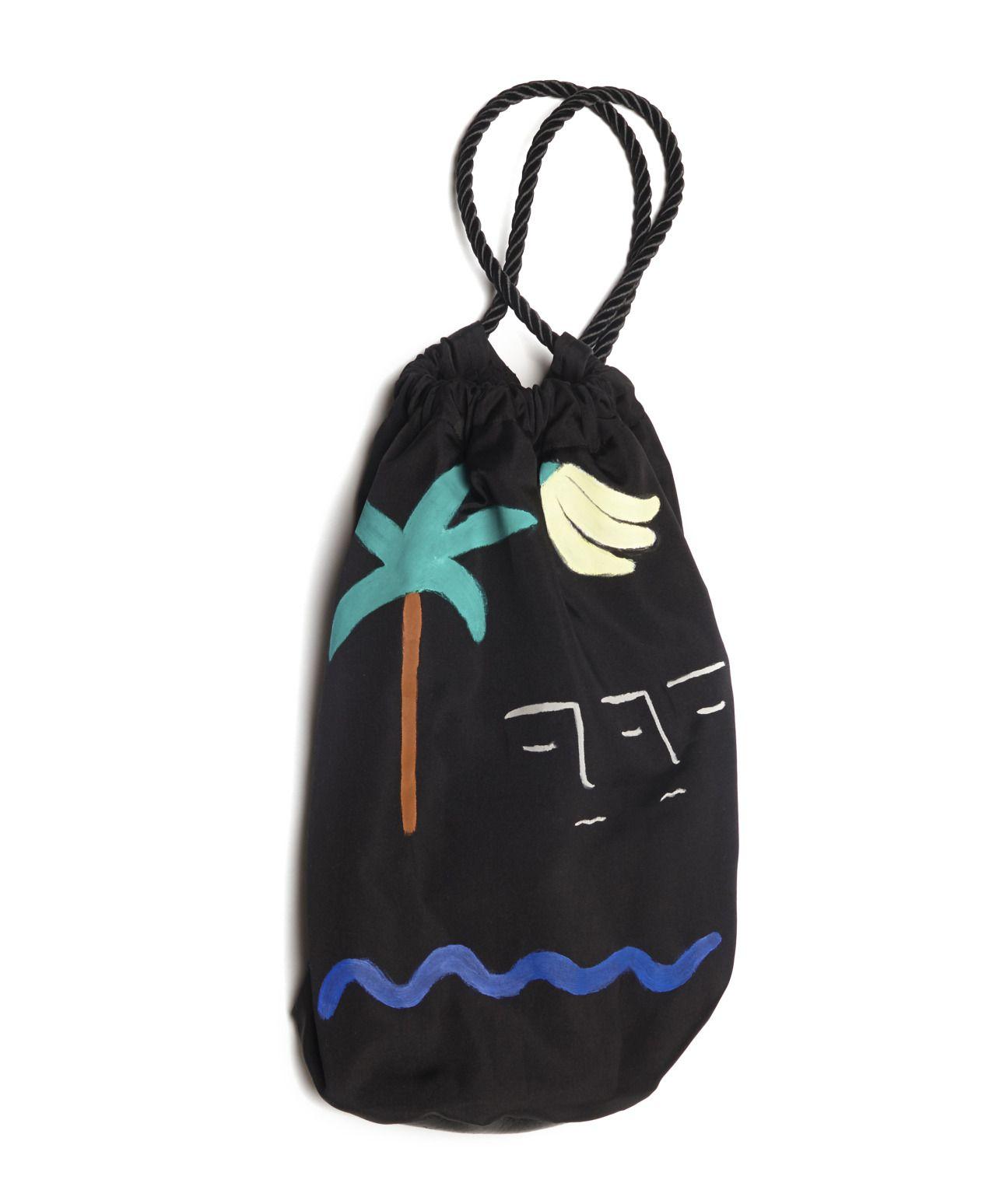 BFGF :): California Print Drawstring Bag