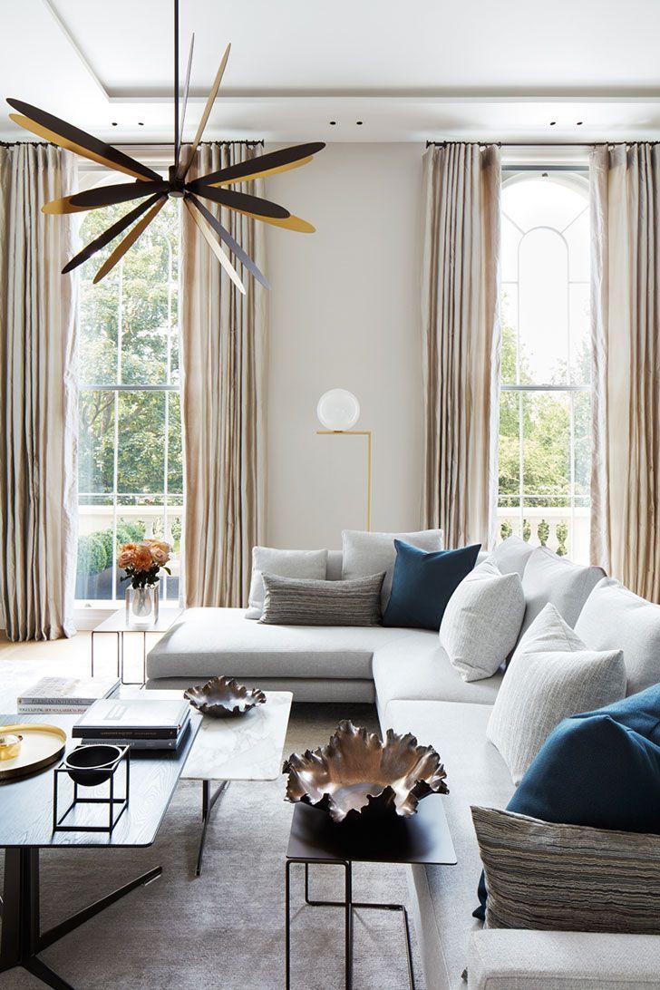 Design My Living Room Online: Exquisite Modern Apartment Overlooking Regent's Park In