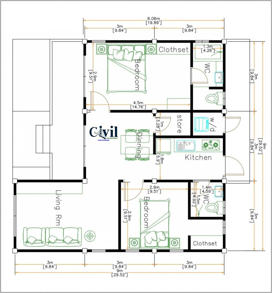 Beautiful Tiny House Plan Ideas For Your Inspiration To See More Read It Architectural Floor Plans House Beautiful Kitchens House Plans