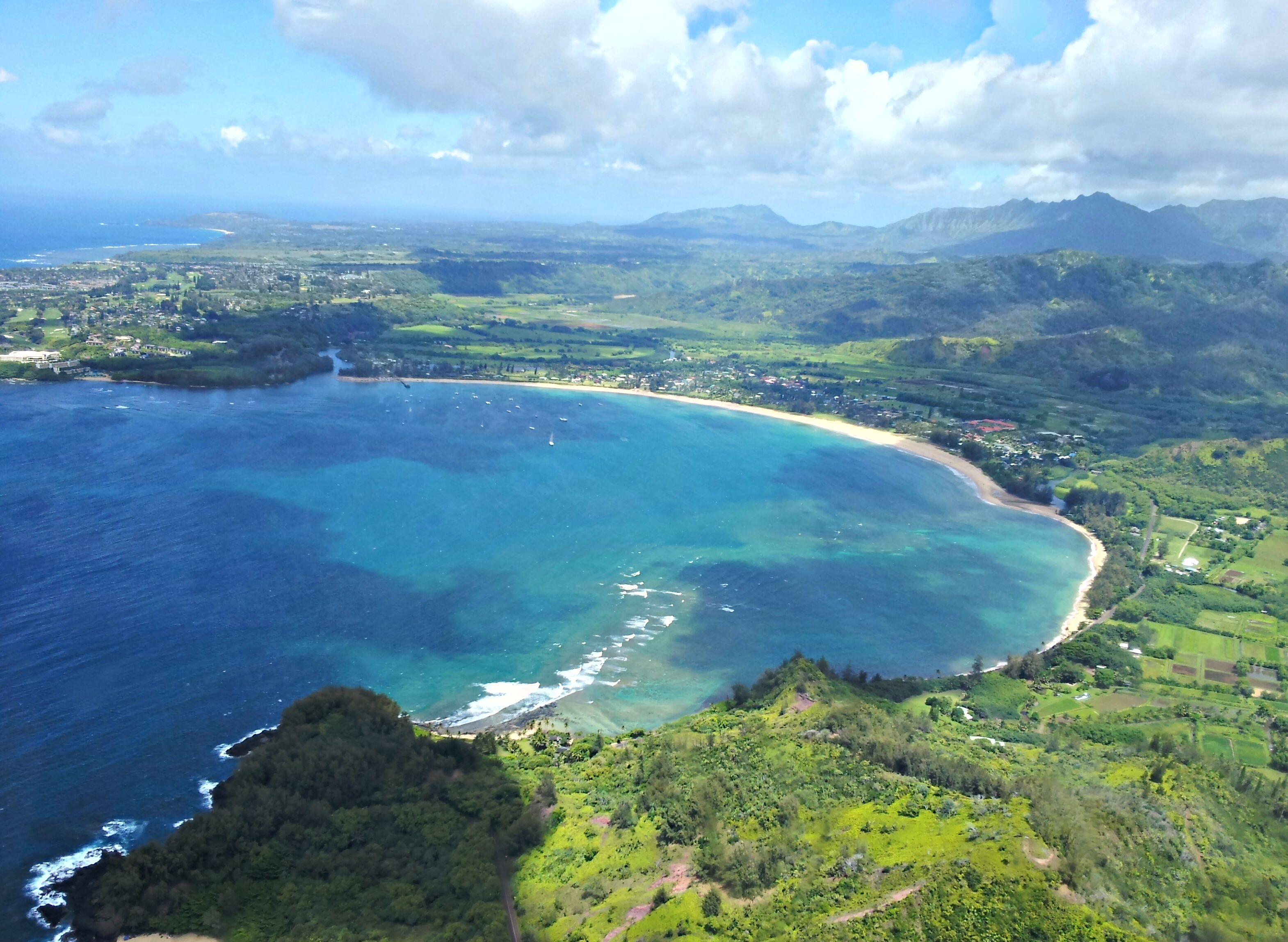Hanalei Bay Kauai Hawaii Like Us To Start Each Day With A Photo