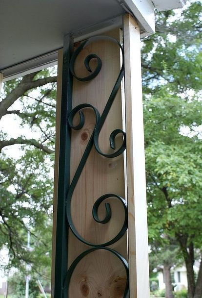 Front Porch Makeover On A Budget With Images Front Porch