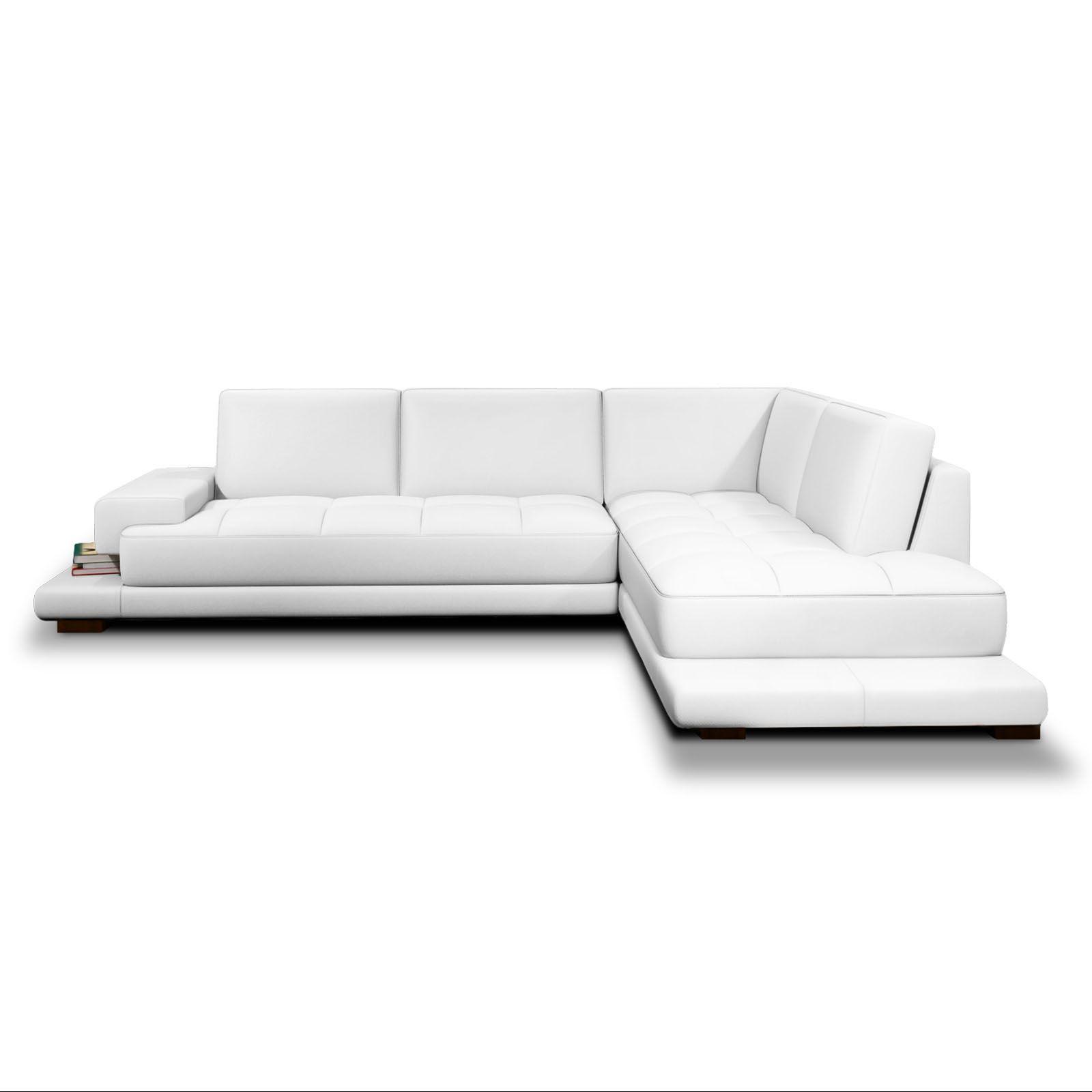 Ledersofa weiß modern  Ecksofas Kunstleder Weiss: Couch & wohnzimmercouch günstig online ...