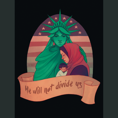 #noban #nowallHank Green promised to donate $5 to the ACLU for every hand drawn message of support for immigrants and refugees