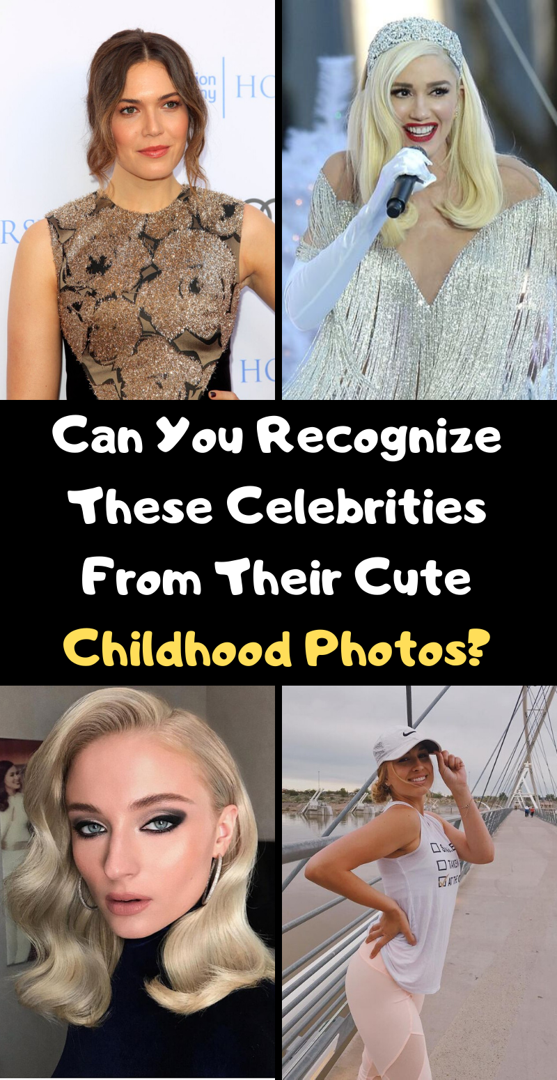 Photo of Can You Recognize These Celebrities From Their Cute Childhood Photos?
