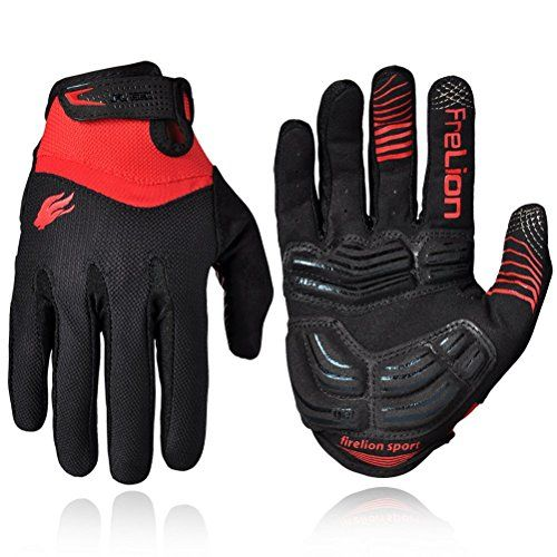Boys Cycling Gloves Firelion Unisex Outdoor Gel Touch Screen
