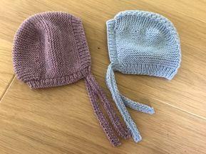 Tuto gratuit béguin naissance tricot Layette, Háčkování Na Miminka, Vzory,  Blondýny c921042e829