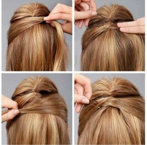 Criss Cross Hairstyle Tutorial - AllDayChic
