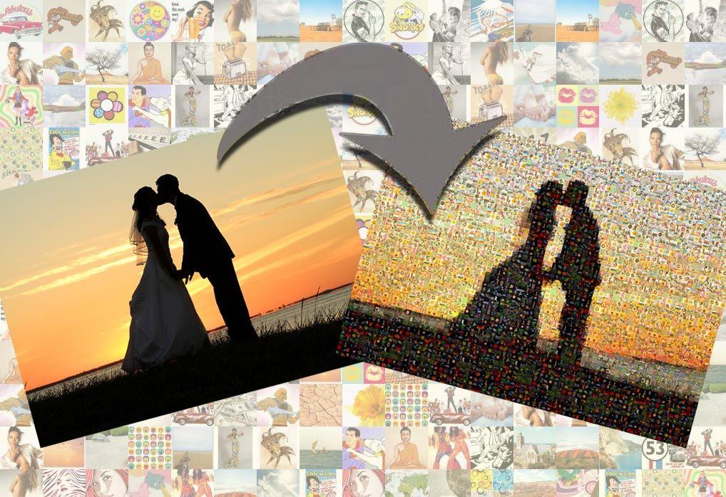 Fotomozaiek gratis online maken en afdrukken (met