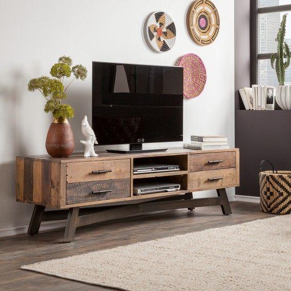 Tv Lowboard Tamati Ii Kaufen Home24 Wohnzimmermobel Lowboard Wohnen