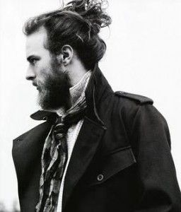 Awesome The Samurai Hairstyle U2013 Or How Men With Curly Hair Use Buns! | The .