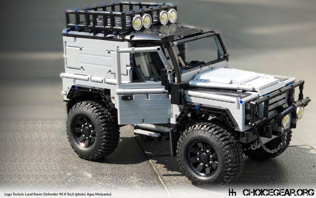 The Modified Defender 90 Technic Build That Lego Needs To Sell