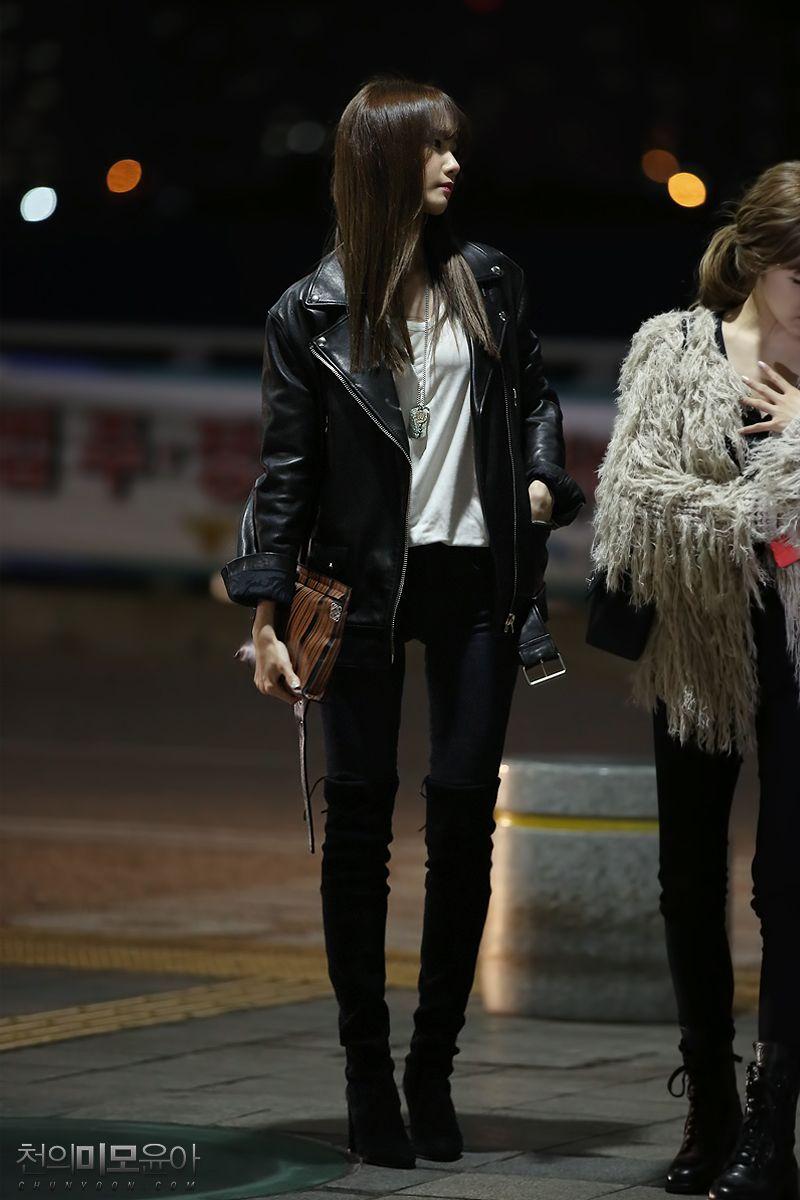 snsd yoona airport fashion 141024 2014 snsd airport