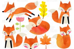 Dieses schöne Aquarell-Set enthält 10 Bilder von Füchsen und Herbstblättern.Was Sie erhalten werden:- 1 ZIP-Datei mit 10 Clipart-Bildern- Jedes Bild...
