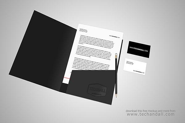61 Free Branding Identity Stationery Psd Mockups Folder Mockup Brochure Mockup Psd Free Mockup