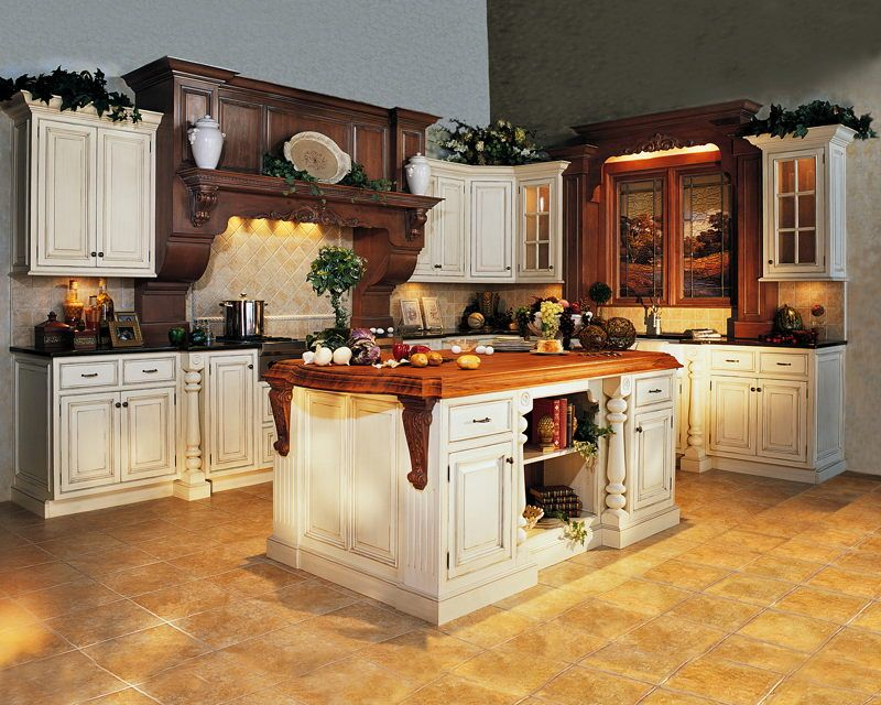images of kitchen island made from cabinets Custom Made verses