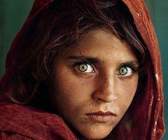 Famous Afghan girl.
