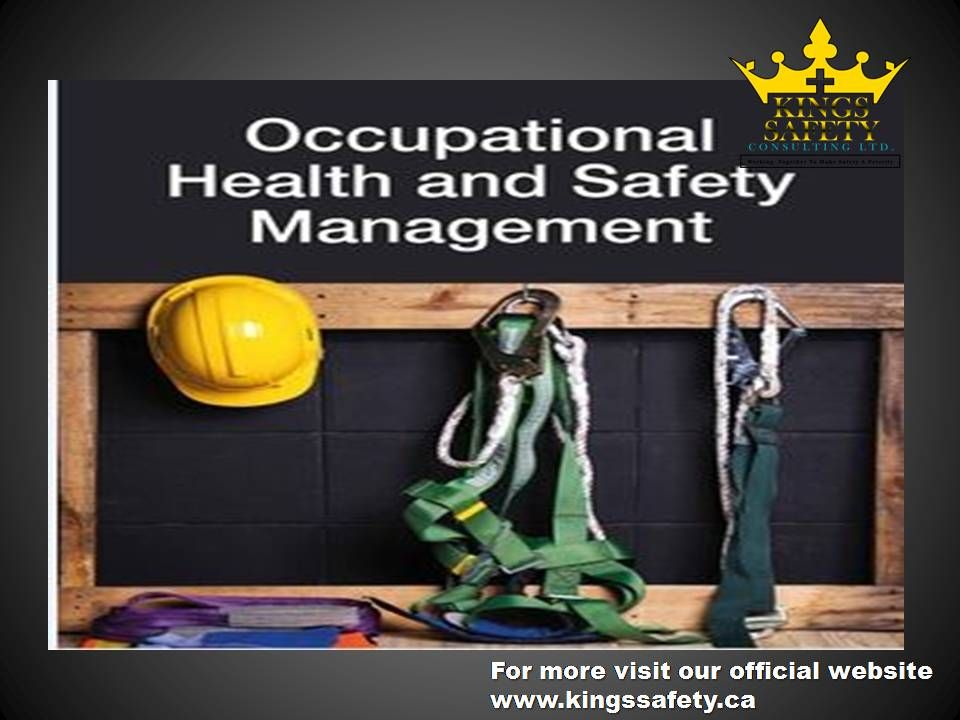 Occupational health and safety once a risk assessment has