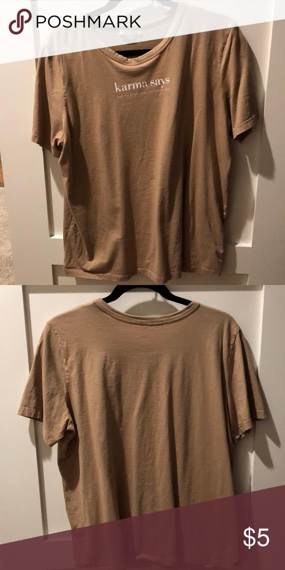 c6b2f2638d T shirt Brown t shirt from Zara. Work once