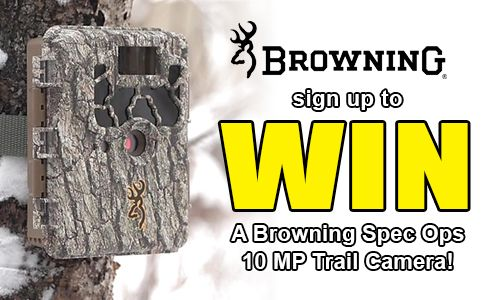 Fin Feather Fur Outfitters is giving away a Browning Spec Ops 10MP Trail Camera!