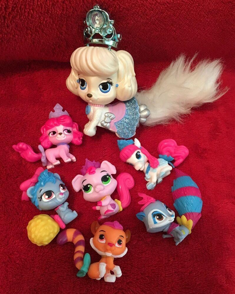 Disney Princess Palace Pets Whisker Haven Figures Lot
