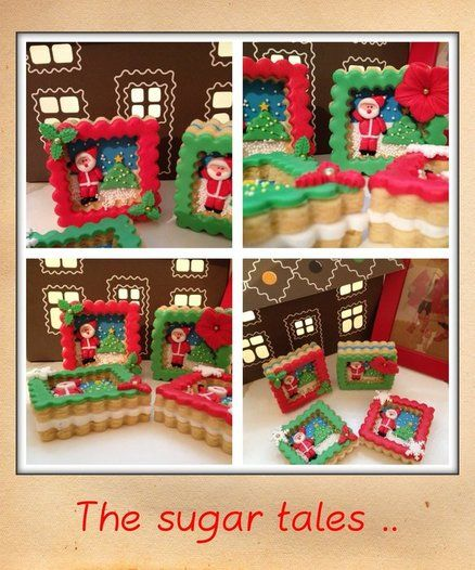 Santa s cookies ! Cake by Thesugartales