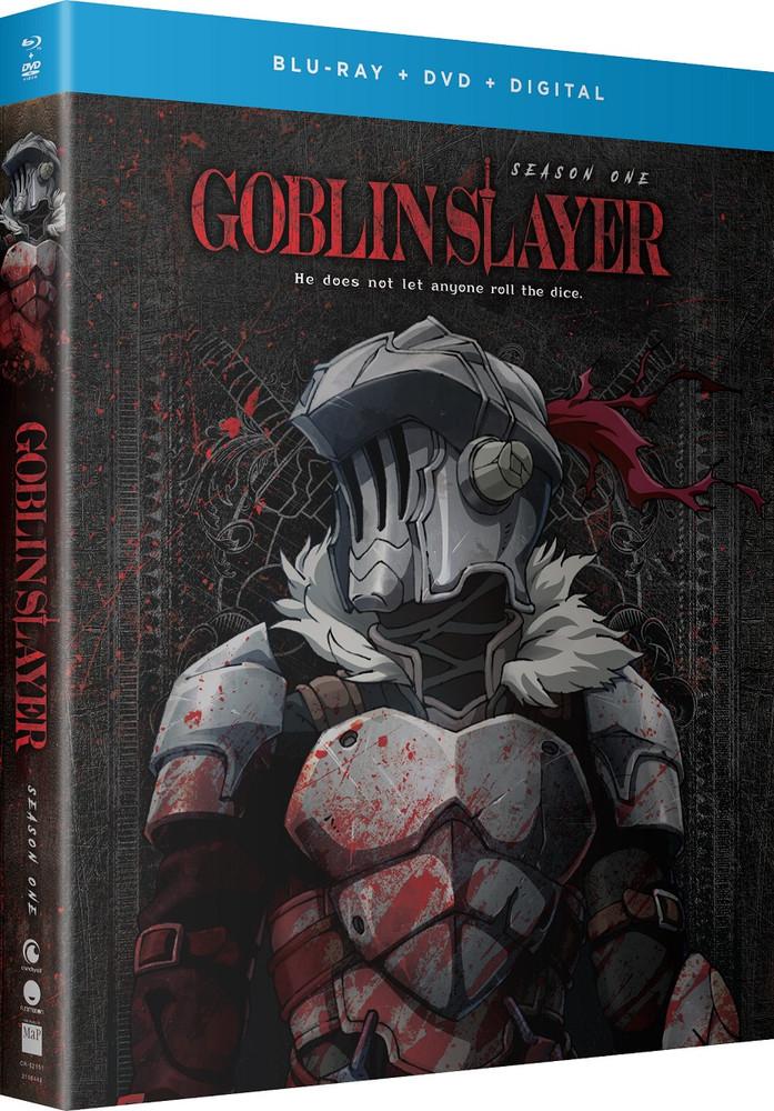 Goblin Slayer Season 1 Bluray/DVD Slayer, Blu ray, Goblin
